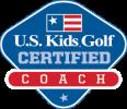 US Kids Golf Coach Logo